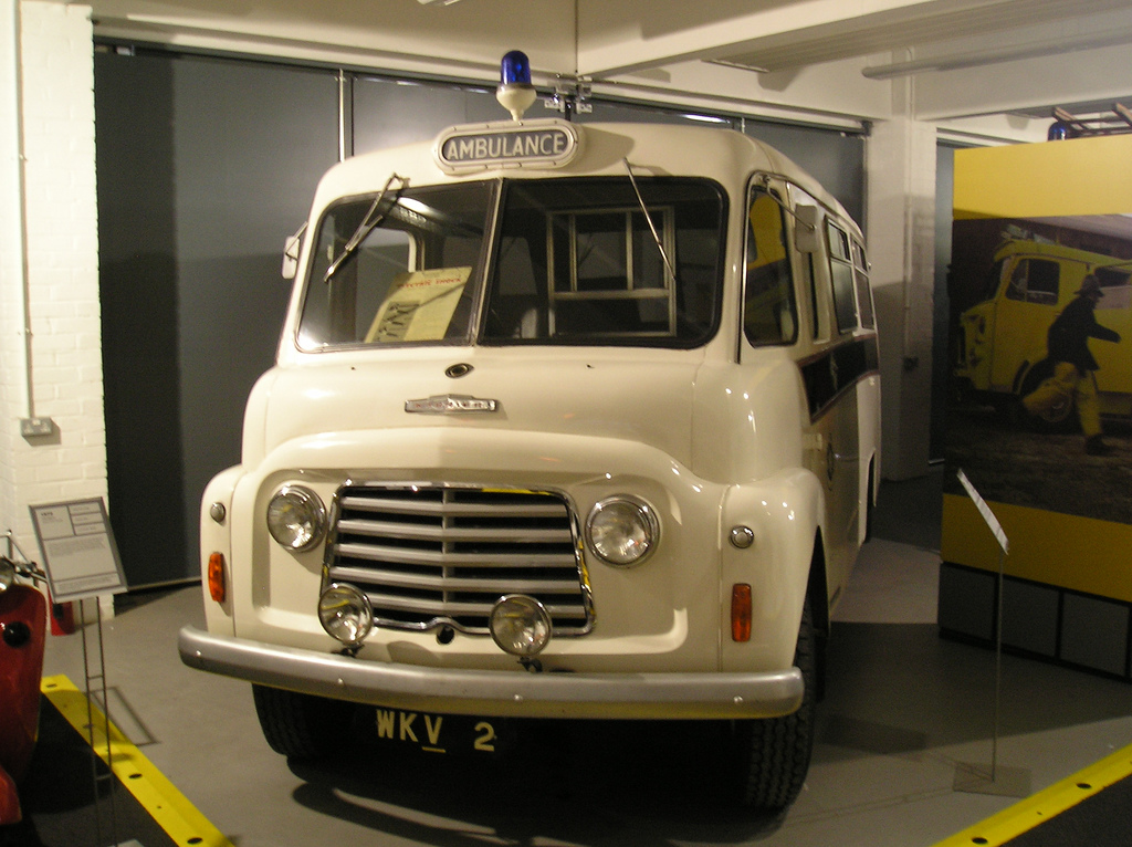 1967 Commer Ambulance Coventry Transport Museum