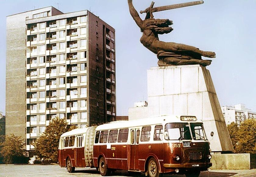 1968 Jelcz 021 ( przegubowiec.com)