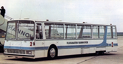 1968 Setra JET 90 - Flughafen-Vorfeldbus Kässbohrer