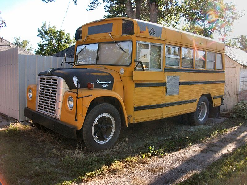 1969-1975 Wayne International school bus (retired)