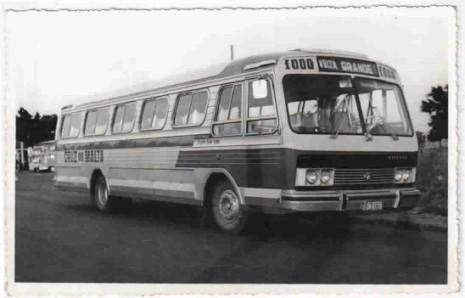 1969 Incasel Continental ônibus antigo