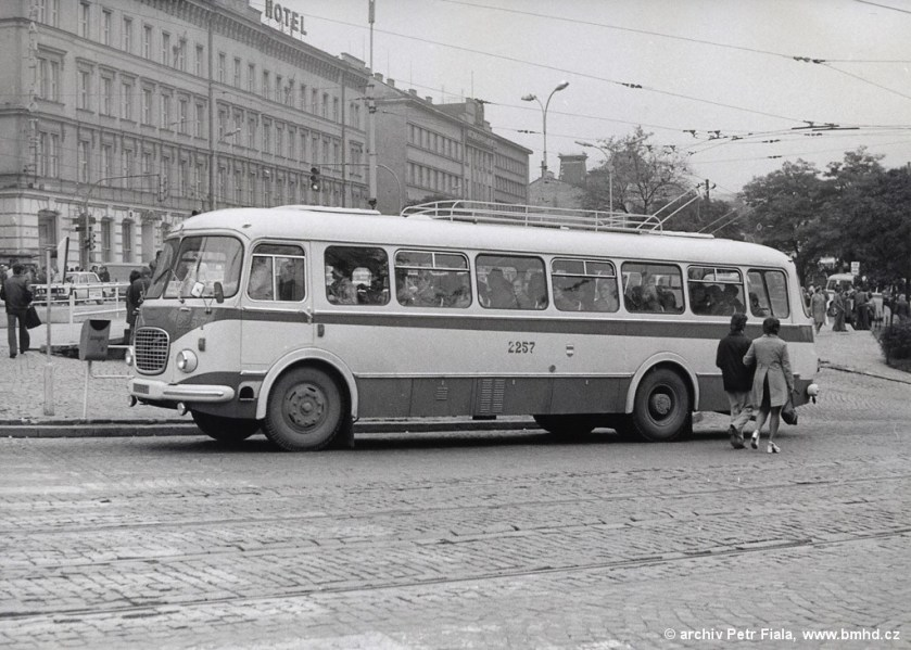 1969 Jelcz 041 trolley