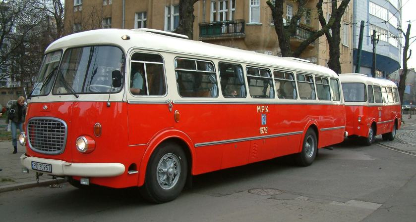 1969 Jelcz 043 and P01 Poznań RB1