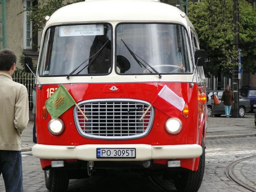1969 Jelcz 043 bus (#1679) in Poznań, Poland Klaar voor parade