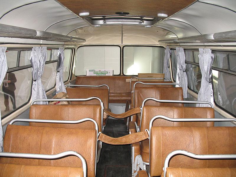 1969 Jelcz 043 in Kielce - interior