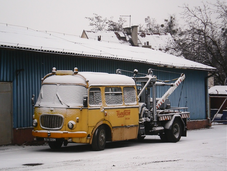 1969 Jelcz 043 towtruck