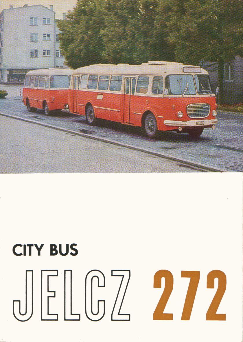 1969 Jelcz 272 Bus 1