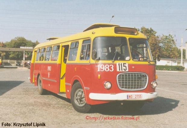 1969 Jelcz 272 MEX Długość 10800 mm