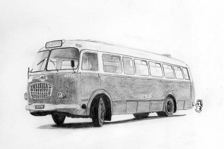 1969 Jelcz 272 MEX tek