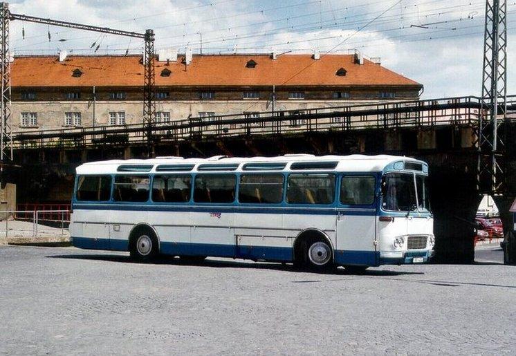 1969 Karosa ŠD11. Autobus z roku
