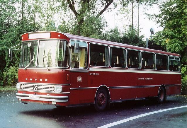 1969 Setra S 140 ES Bahnbus