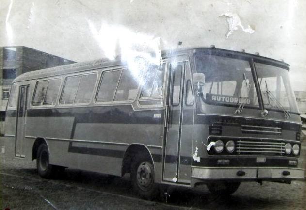 1970 carroceria Incasel Continental, chassi Mercedes-Benz LPO-344