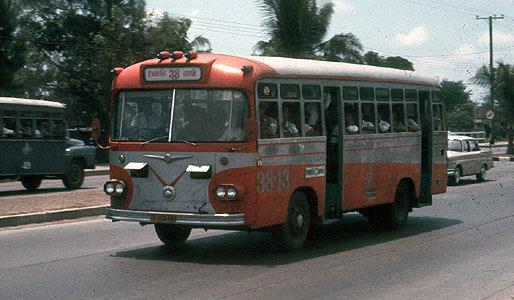1970 Isuzu Thai Bus 38-13 Isuzu