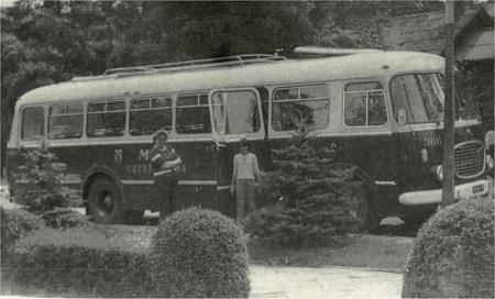 1970 Jelcz 043 jako PKS Częstochowa