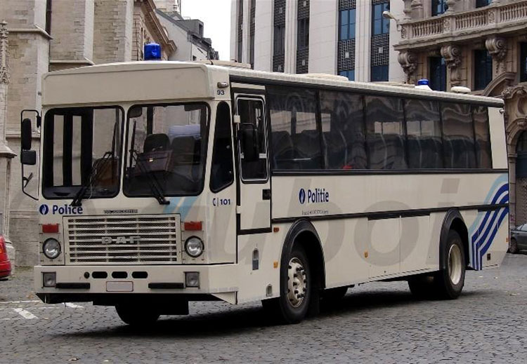 1970 jonckheere TB 2100 daf bus