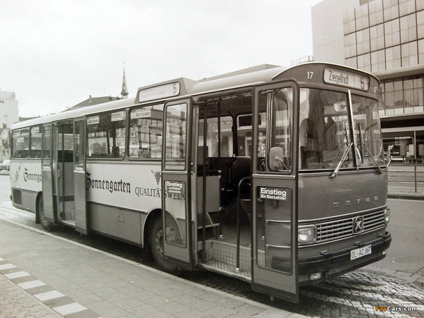 1970 Kässbohrer setra 100