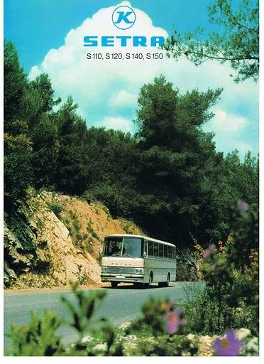 1970 SETRA S110,S120,S140,S150 (KS6-873-8DKoS)