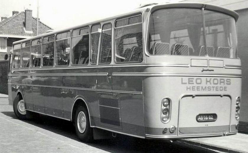 1971 daf touringcar met Jonckheere opbouw