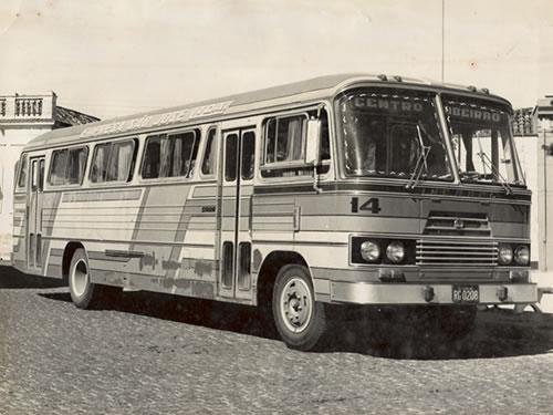 1971 Mercedes bens - Comprado da Expresso Forquilhinha - Carroceria INCASEL