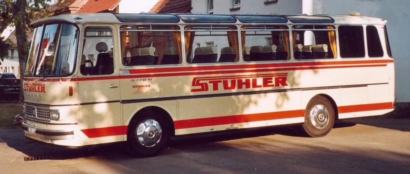 1972 Kässbohrer setra s110h coach