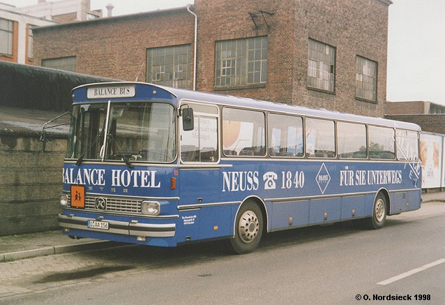 1972 Setra S 140 ES Linienbus 1972