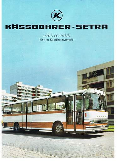 1972 SETRA S130S, SG180S-SL