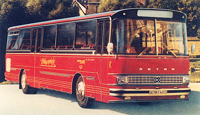 1973 Setra S 140 ES Kässbohrer