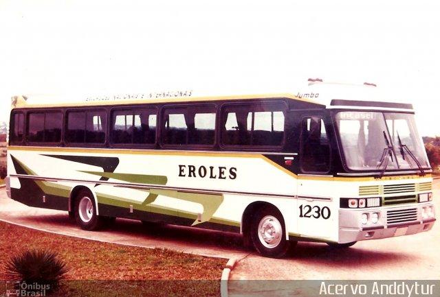 1974 carroceria Incasel Jumbo, chassi Mercedes-Benz LPO-1113