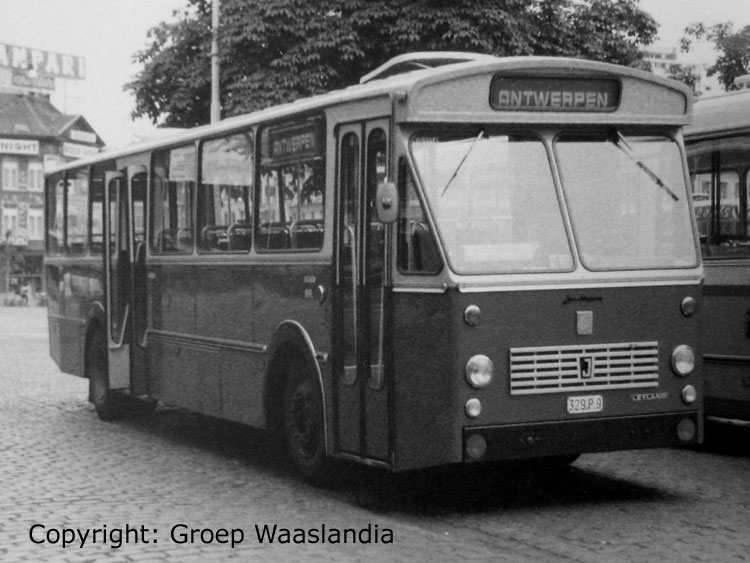 1974 Jonckheere leyland bus