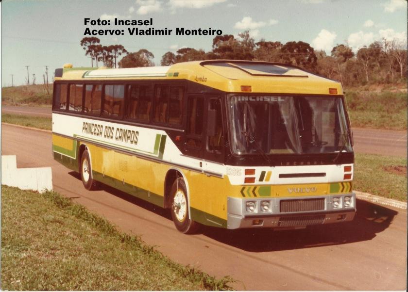 1975 Incasel Belveder com chassi Volvo