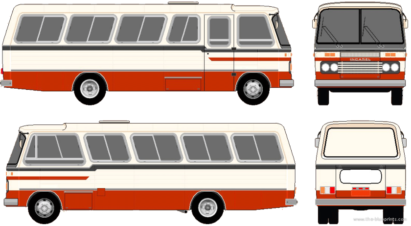 1975 incasel-ponei-bus