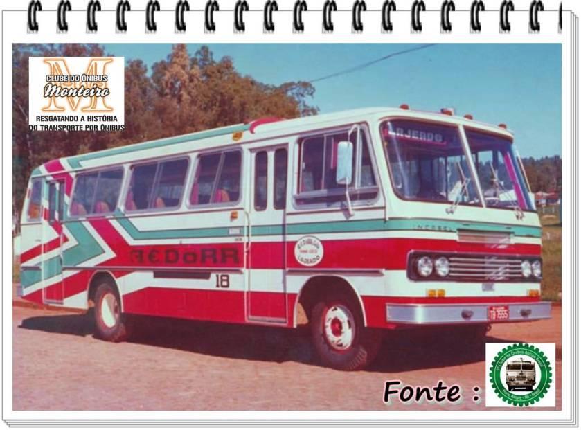 1976 Incasel Continental II Intermunicipal Mercedes-Benz LPO-1113
