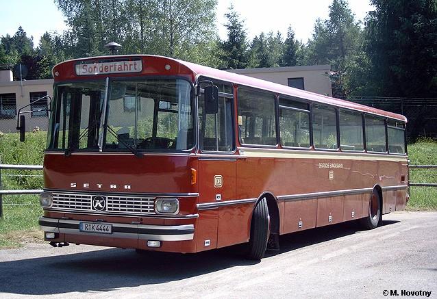 1976 Setra S 140 ES Bahnbus (Oldtimer)