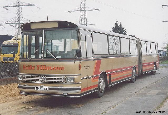 1976 Setra SG 180 Ü Gelenkbus