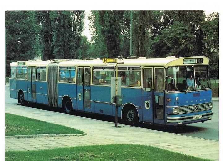 1976 SETRA SG180S