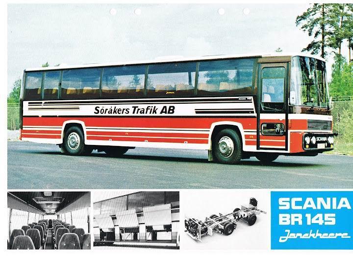 1977 SCANIA BR145 Jonckheere