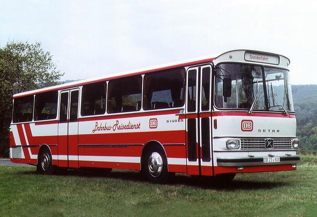 1977 Setra S 140 ES Bahnbus-Reisedienst