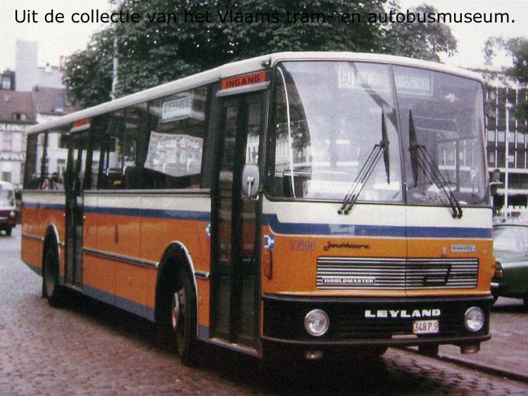 1978 Jonckheere leyland worldmaster bus