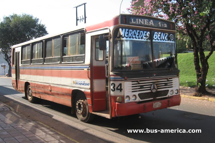 1978 Mercedes Benz OF 1313 Incasel Cisne Urbano