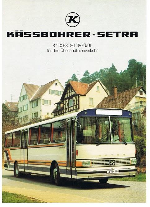1978 SETRA Kässbohrer S 140- SG 180 Ü-ÜL