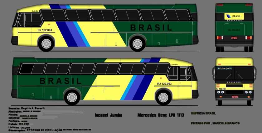 1979-84 INCASEL RJ 122.063 JUMBO