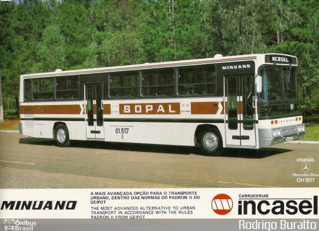 1979 Incasel Minuano MB OH 1517