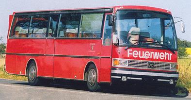 1979 Setra S 212 HM Kässbohrer Feuerwehr