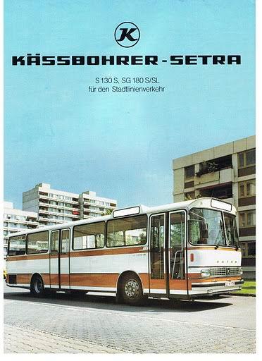 1979 SETRA S130S, SG180S-SL