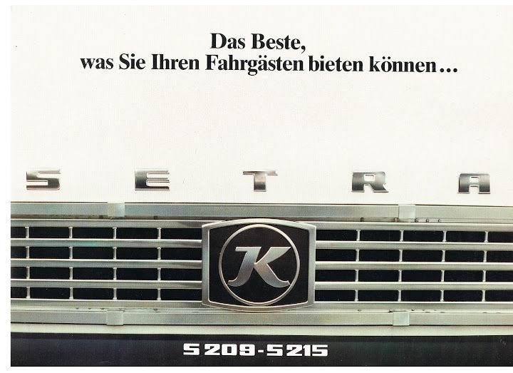 1980 SETRA S209-S215
