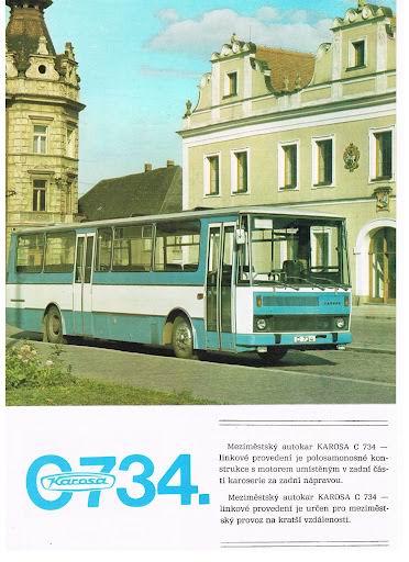 1982 KAROSA C734-1
