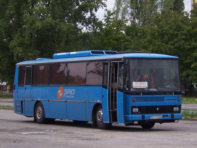 1984-97 Karosa LC 736 dopravného podniku SAD Prievidza
