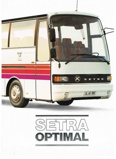 1984 SETRA OPTIMAL S210 tot S228DT