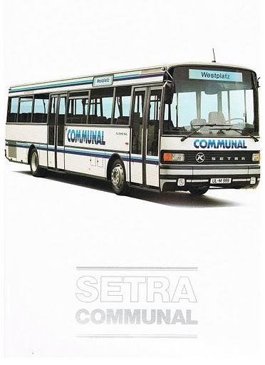 1984 SETRA S215SL Communal