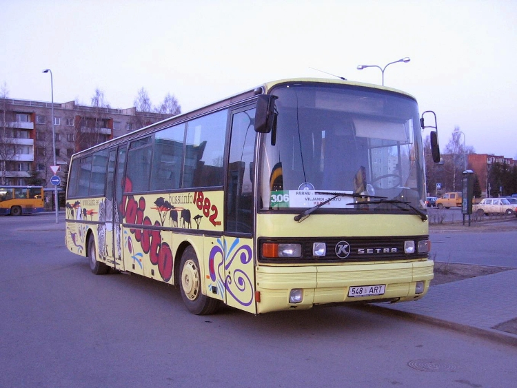 1985 Kassbohrer Setra S215UL Estland